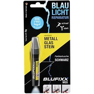 Klebstoff, Nachfüllpack, Metall, Glas, Stein, 5 g, schwarz BLUFIXX CK000003-003