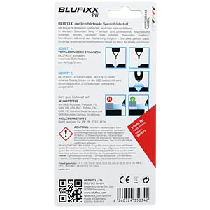 BLUFIXX PW Refill Cartridge clear BLUFIXX CK000005-001