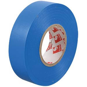 VDE insulating tape, 25 m, width: 19 mm, blue FREI