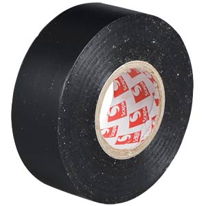 VDE insulating tape, 25 m, width: 25 mm, black FREI