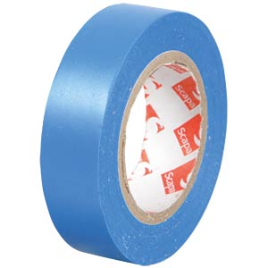 VDE insulating tape, 10 m, width: 15 mm, blue FREI