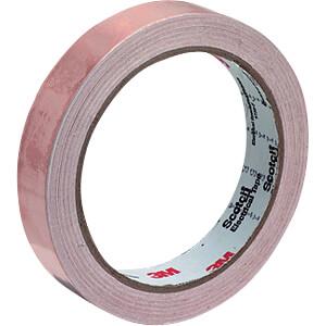 Kupferband, glatt, 12 mm x 16,5 m 3M ELEKTRO PRODUKTE 1181 12MMX16.5M