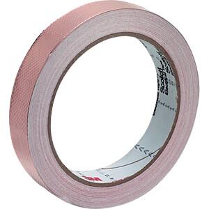 Kupferband, geprägt, 12 mm x 16,5 m 3M ELEKTRO PRODUKTE 1245 12MMX16.5M