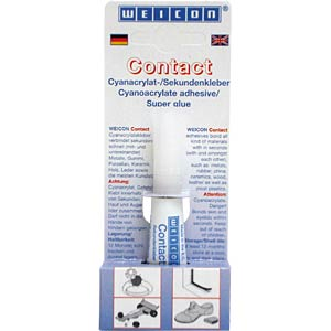 Cyanoacrylate contact adhesive, 3 g WEICON 12050001