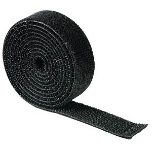 Universal rip-tape strip 19 x 1000 mm, black FREI