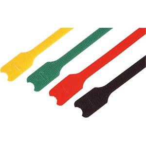 Klettverschlüsse, 200x12mm, rot 10er-Pack FREI