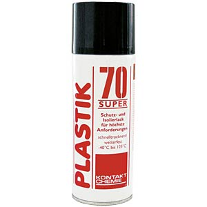Plastic 70 Super, 400 ml - protective and insulating varnish CRC-KONTAKTCHEMIE 32046-002