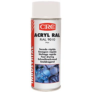 Schutzlack, Acryl RAL 9010, 400 ml, Spraydose, weiß, matt CRC-KONTAKTCHEMIE 31066