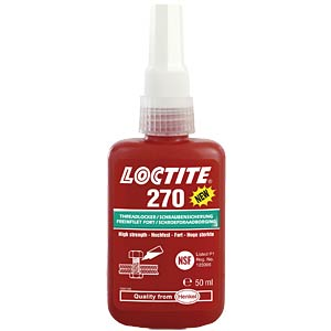 Loctite 270 threadlocking adhesive, high-strength LOCTITE 270