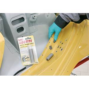 Metal-filled epoxy adhesive, malleable LOCTITE 3463