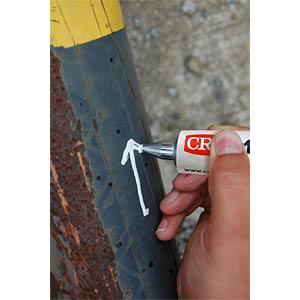 Markerball, Gelb, Tubenmarkierer 50 ml CRC-KONTAKTCHEMIE 30160-001