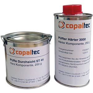 2-component polyurethane resin, clear, isolating COPALTEC PURE DURCHSICHT ST 44, KRISTAL