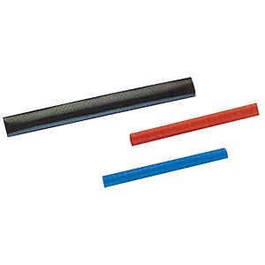 10-pack 2:1 heat-shrink tubing, 6.4 mm, black FREI