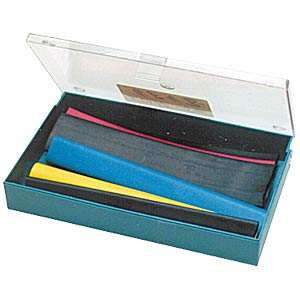 Heat-shrink tubing assortment, 2:1, 15 cm, 6 pieces FREI