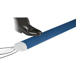 Kabelkanal, inkl. 2 Endkappen, 1,5 m, blau SERPA 5.01021.5002