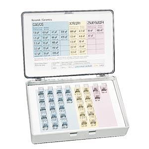 Sortimentsbox SMD-Widerstände, 60 Werte E12 FREI