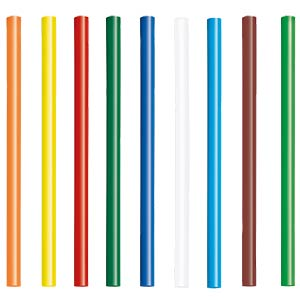 16 glue sticks, coloured, 7 mm STEINEL 006969