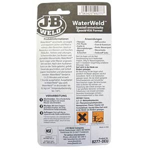 JB Waterweld even glues under water JB-WELD 90963