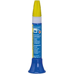 Schraubensicherung, Lack, gelb, 30 ml WEICON 30021030