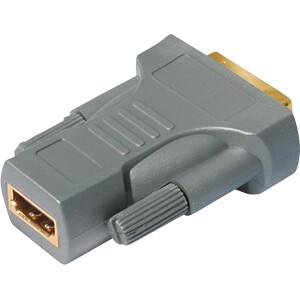 Adapter, HDMI Buchse auf DVI-D Stecker SHIVERPEAKS SP77401