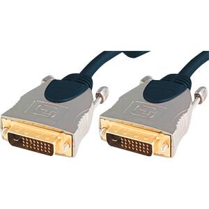 DVI Monitor Kabel DVI 24+1 Stecker, Dual Link, 20 m SHIVERPEAKS SP77448-20
