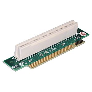 PCI riser card 90° angled left 1 U FREI