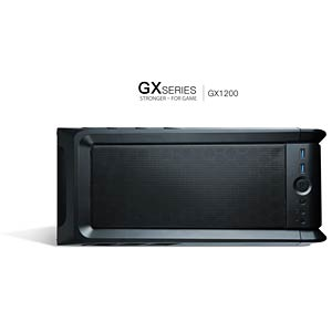 Antec Midi-Tower GX1200 Window ANTEC 0-761345-10001-4