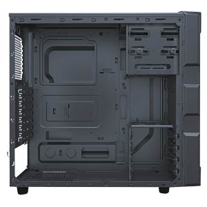 Antec Midi-Tower GX200 Window Blue ANTEC 0-761345-15202-0