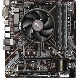 Tuning-Kit AMD Ryzen5 2600 6x 3,4GHz 8GB GIGABYTE