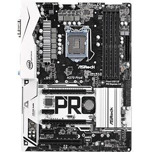 ASRock H270 Pro4 (1151) ASROCK 90-MXB3R0-A0UAYZ