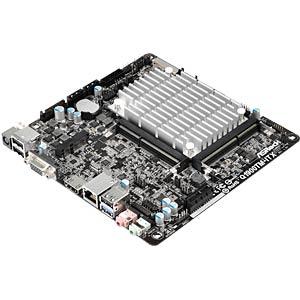 Thin Mini-ITX motherboard with Intel Celeron J1900 ASROCK 90-MXGSK0-A0UAYZ