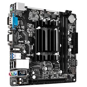 Mini-ITX motherboard with AMD A4-5000 ASROCK 90-MXGYS0-A0UAYZ