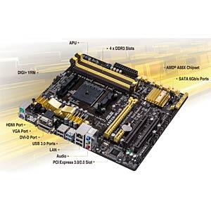 ASUS A88XM-Plus (FM2+) ASUS 90MB0H50-M0EAY0