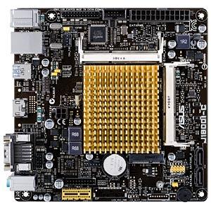 Mini-ITX Motherboard mit Intel Celeron J1800 ASUS 90MB0J60-M0EAY0
