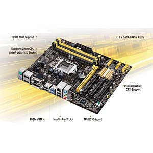 ASUS S1150 Q87 mainboard ASUS 90MB0FS0-M0EAY5