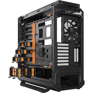 be quiet! Silent Base 801 Window Orange BEQUIET BGW28