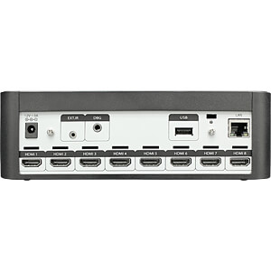 4K UHD HDR Stream Generator - 8 HDMI - 64GB BLUVIZION BV-SG7008UA
