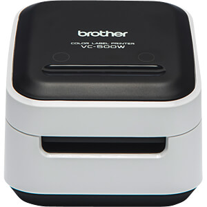 Colour Label Printer, USB, WLAN BROTHER VC-500W