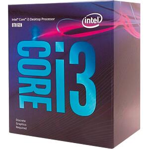 Intel Core i3-9100F, 4x 3.60GHz, boxed, 1151 INTEL BX80684I39100F