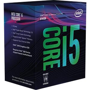 Intel Core i5-8400, 6x 2.80GHz, boxed, 1151 INTEL BX80684I58400