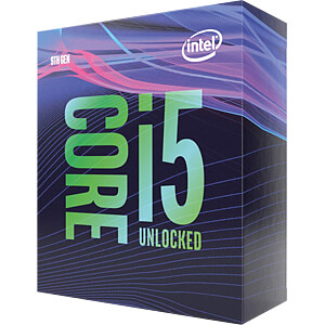 Intel Core i5-9400F, 6x 2.90GHz, boxed, 1151 INTEL BX80684I59400F