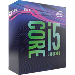 Intel Core i5-9400F, 6x 2.90GHz, emballé, 1151 INTEL BX80684I59400F
