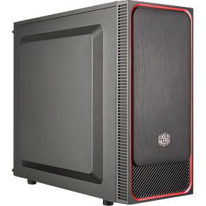 Cooler Master Midi Tower MasterBox E500L red COOLER MASTER MCB-E500L-KN5N-S01