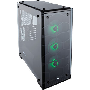Corsair Miditower Crystal Series 570X RGB CORSAIR CC-9011098-WW
