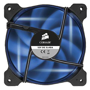 Corsair AF120 Gehäuselüfter, 120 mm, LED blau, x2 CORSAIR CO-9050016-BLED