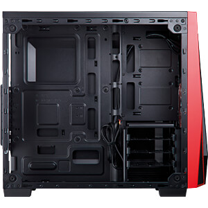 Corsair SPEC-04 Midi-Tower rot / schwarz CORSAIR CC-9011117-WW
