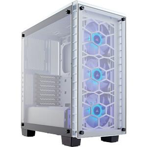 Corsair Crystal 460X RGB Midi-Tower weiß CORSAIR CC-9011129-WW