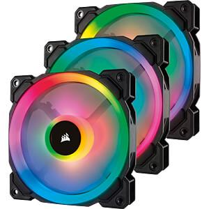 Corsair LL120 RGB 120mm LED PWM Lüfter, 3 Stück CORSAIR CO-9050072-WW