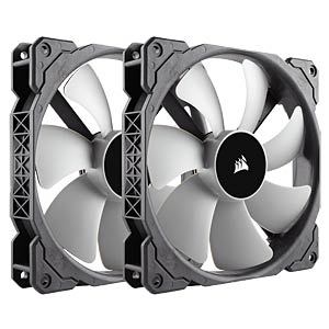 Corsair ML Series Gehäuselüfter, 140 mm, x2 CORSAIR CO-9050044-WW
