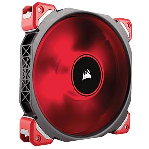 Corsair ML Series Gehäuselüfter, 140 mm, rot CORSAIR CO-9050047-WW